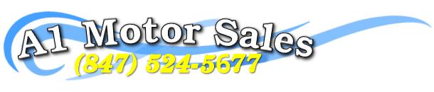 A-1 Motor Used Cars Sales Logo